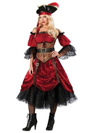 Swashbucklin' Scarlet コスチューム ハロウィン レディース コスプレ 衣装 女性 仮装 女性用 イベント パーティ ハロウィーン 学芸会
