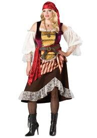 大きいサイズ Deckhand Darlin' 海賊 パイレーツ コスチューム ハロウィン レディース コスプレ 衣装 女性 仮装 女性用 イベント パーティ ハロウィーン 学芸会