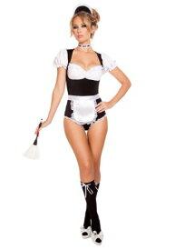 Women's Foxy Cleaning Maiden コスチューム ハロウィン レディース コスプレ 衣装 女性 仮装 女性用 イベント パーティ ハロウィーン 学芸会