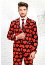 Opposuit King Of Hearts Mens Suit クリスマス ハロウィン メンズ コスプレ 衣装 男性 仮装 男性用 イベント パーティ ハロウィーン 学芸会