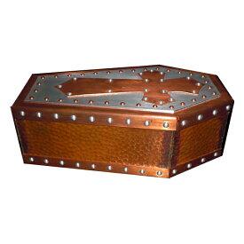 ビルウォール BILL WALL LEATHER ビルウォールレザー BWLArtist Dennis Sanchez Custom Copper Coffin Jewelry Box
