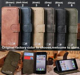 iPhone6 本革 レザー ケースiPhone6 本革 レザー ケース アイフォン6 ケース 手帳タイプ カバー スマホケース