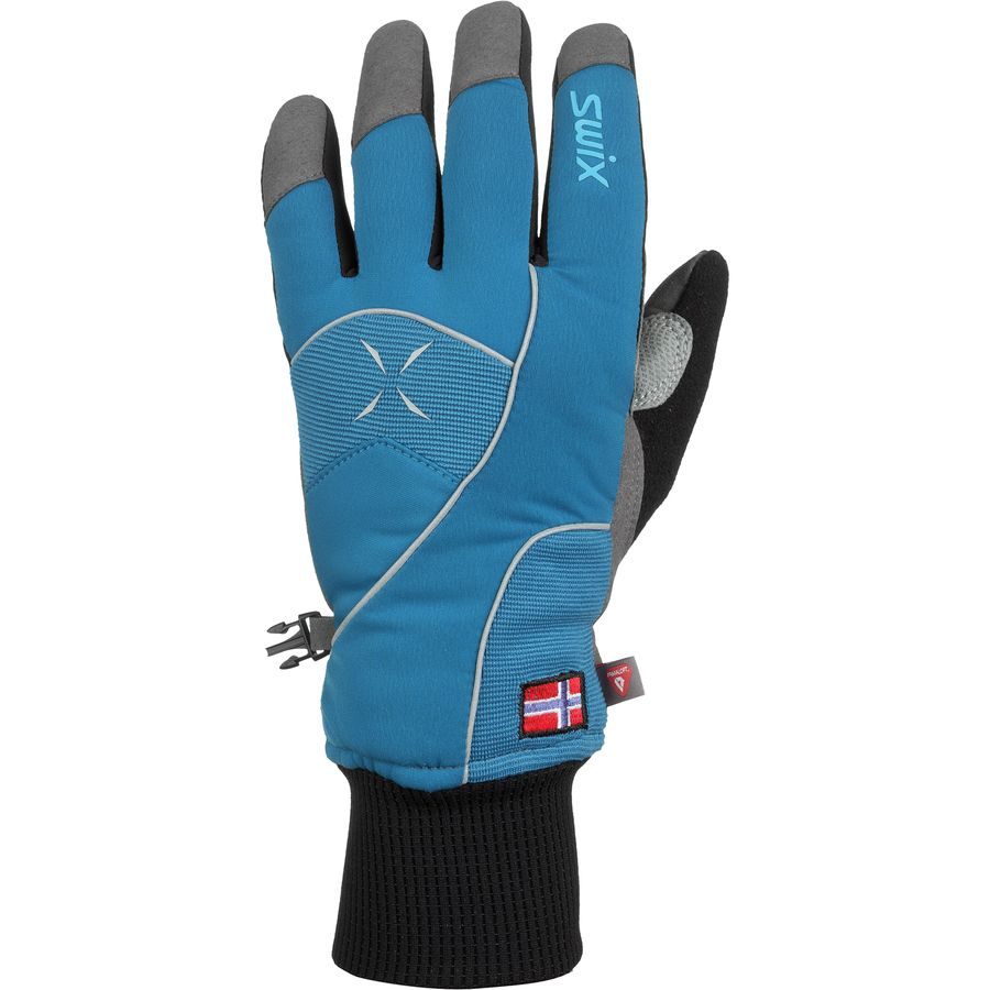 Swix Star XC 100 Glove - Men's Cold Blue Mykonos Blue アウトドア メンズ 男性用 グローブ 手袋 Gloves & Mittens