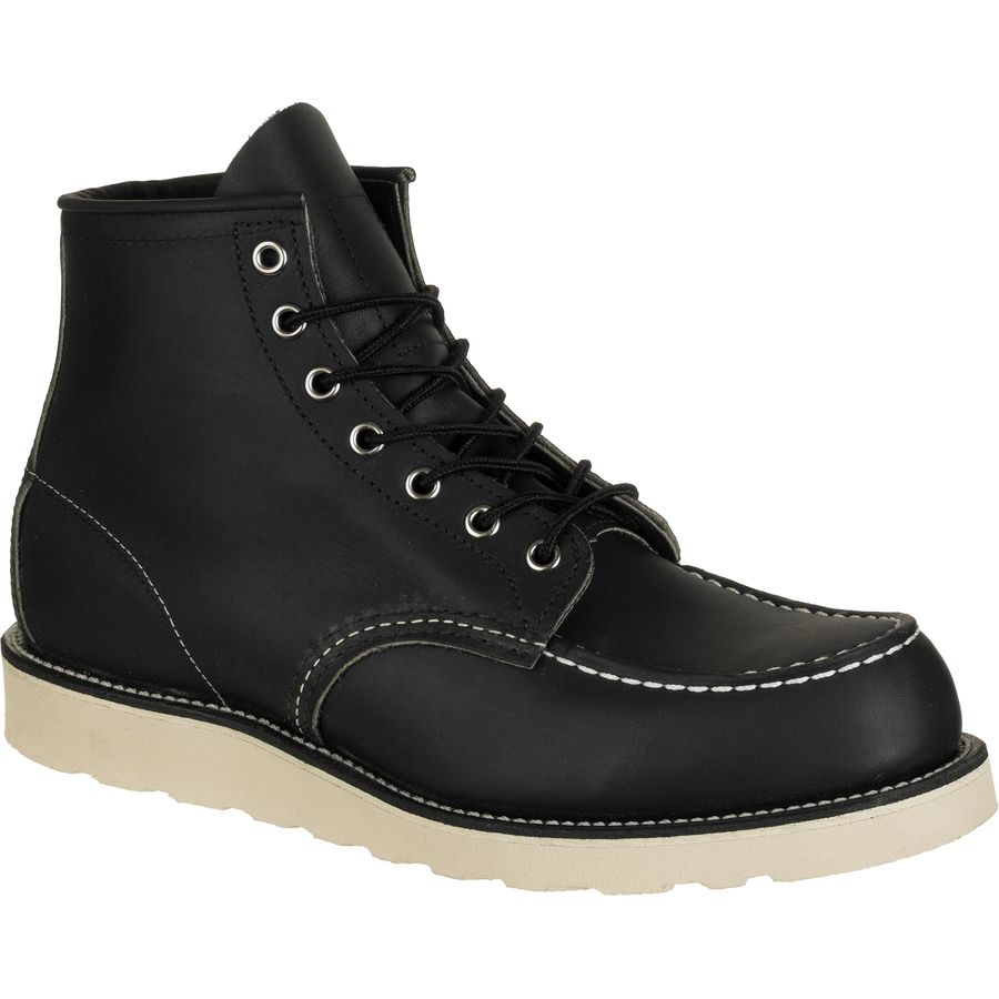 Red Wing Heritage 6-Inch Classic Moc Boot - Men's Black Harness アウトドア メンズ 男性用 靴 シューズ ブーツ Boots & Shoes