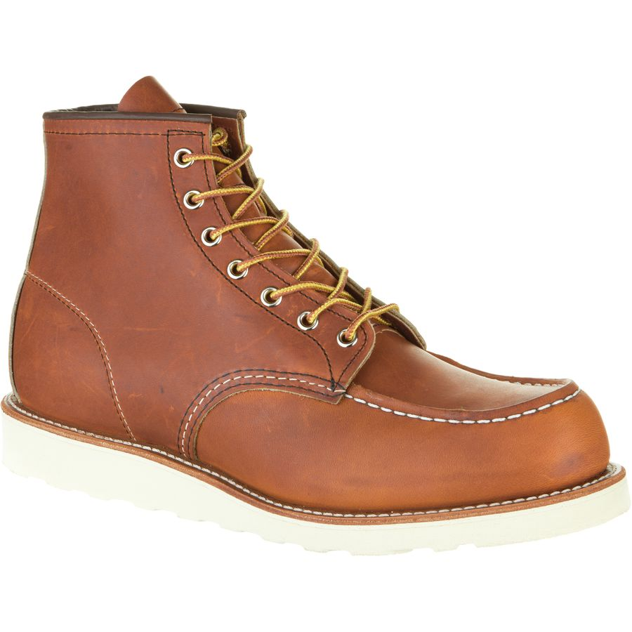 Red Wing Heritage 6-Inch Classic Moc Boot - Men's Oro Legacy アウトドア メンズ 男性用 靴 シューズ ブーツ Boots & Shoes