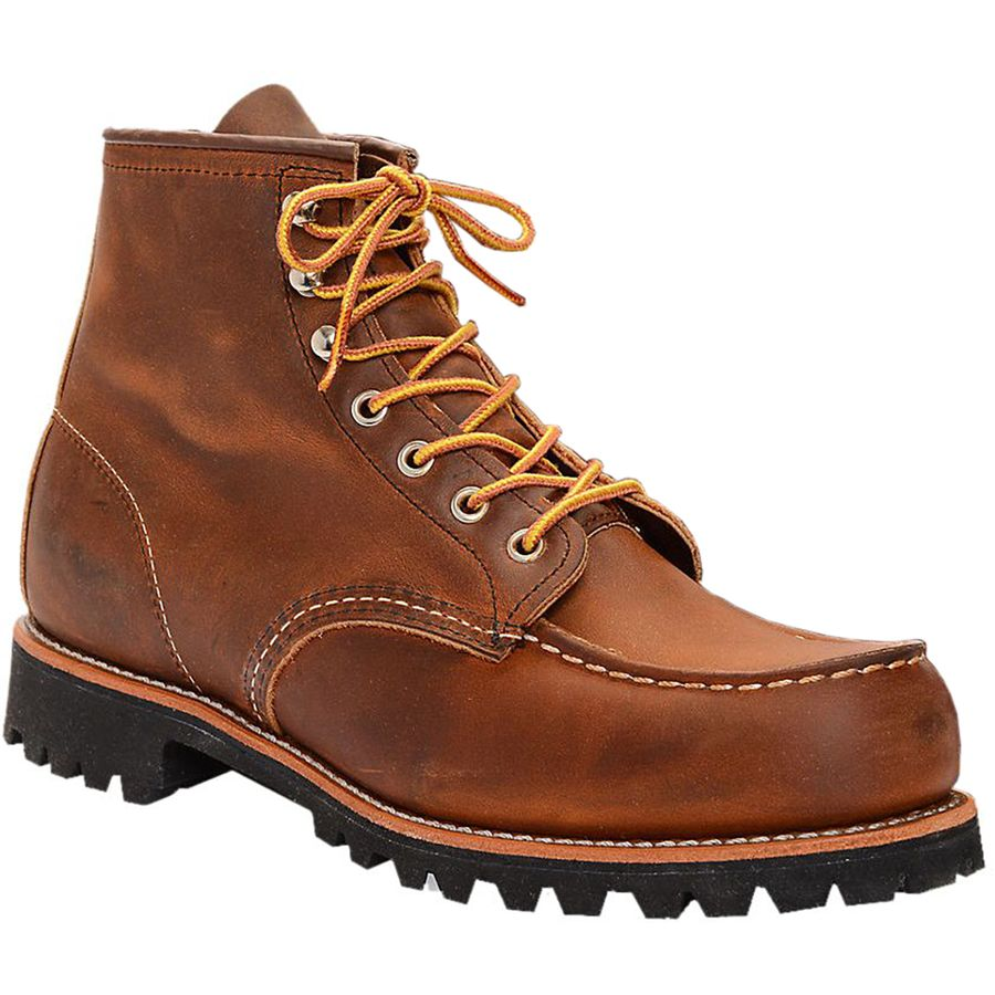 Red Wing Heritage Classic Moc Roughneck Boot - Men's Copper Rough And Tough アウトドア メンズ 男性用 靴 シューズ ブーツ Boots & Shoes