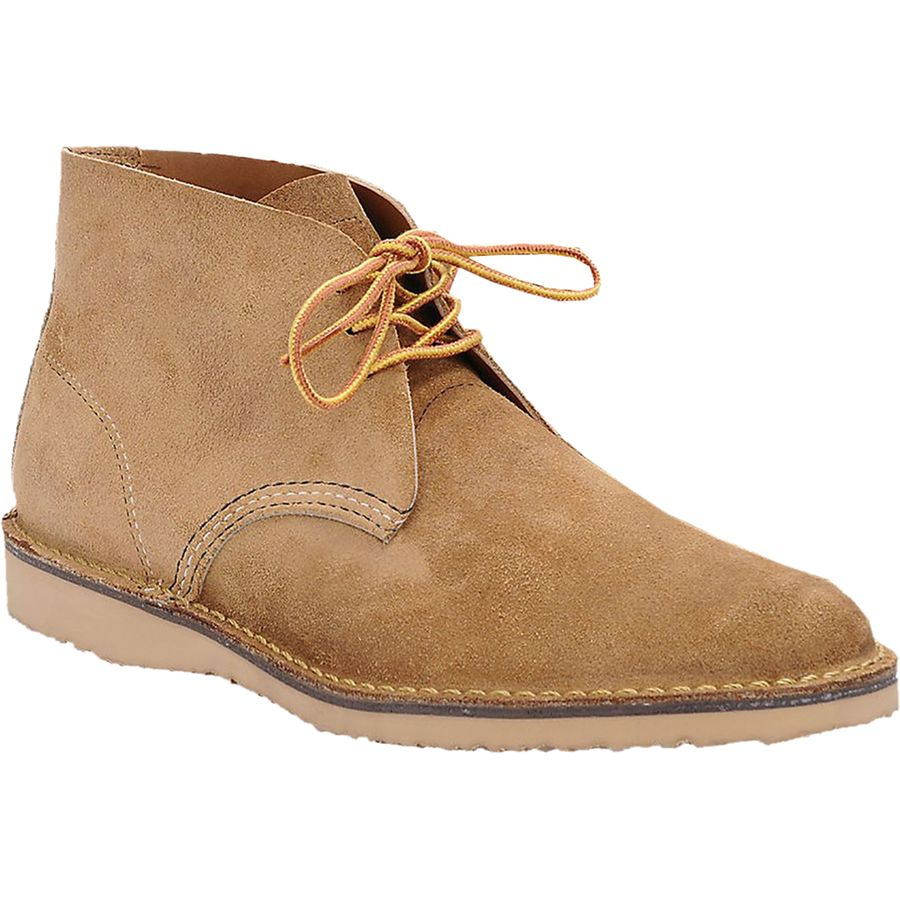 Red Wing Heritage Weekender Chukka Shoe - Men's Hawthorne Muleskinner アウトドア メンズ 男性用 靴 シューズ ブーツ Boots & Shoes