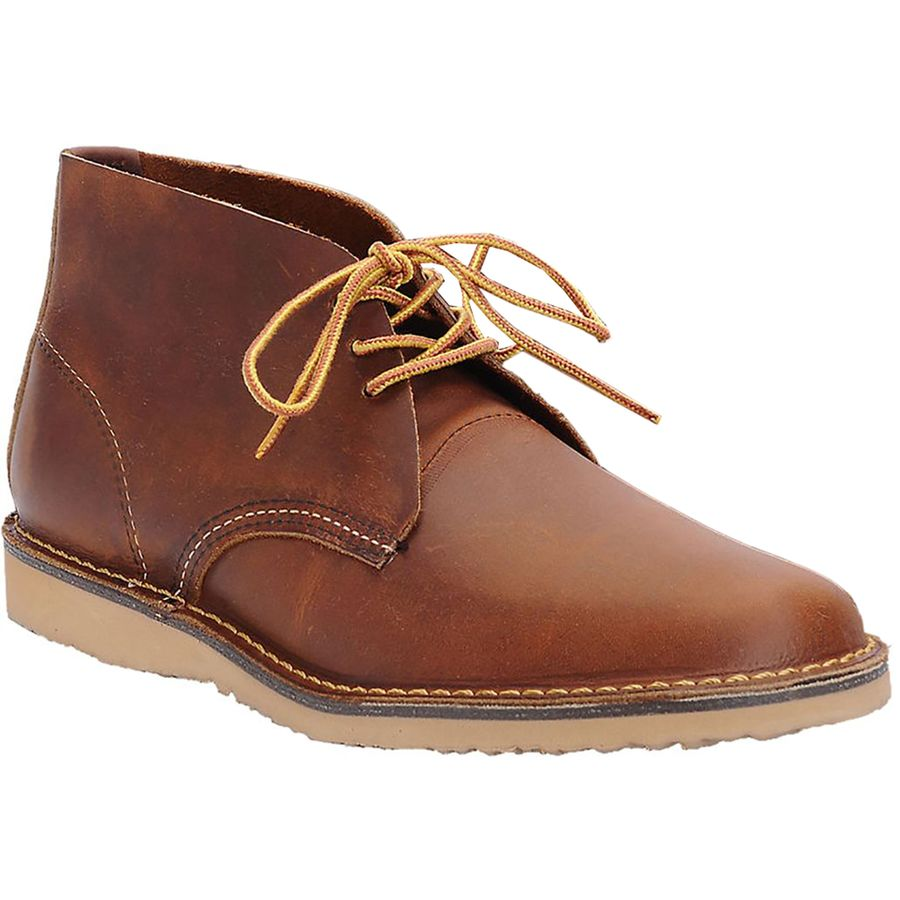 Red Wing Heritage Weekender Chukka Shoe - Men's Copper Rough And Tough アウトドア メンズ 男性用 靴 シューズ ブーツ Boots & Shoes