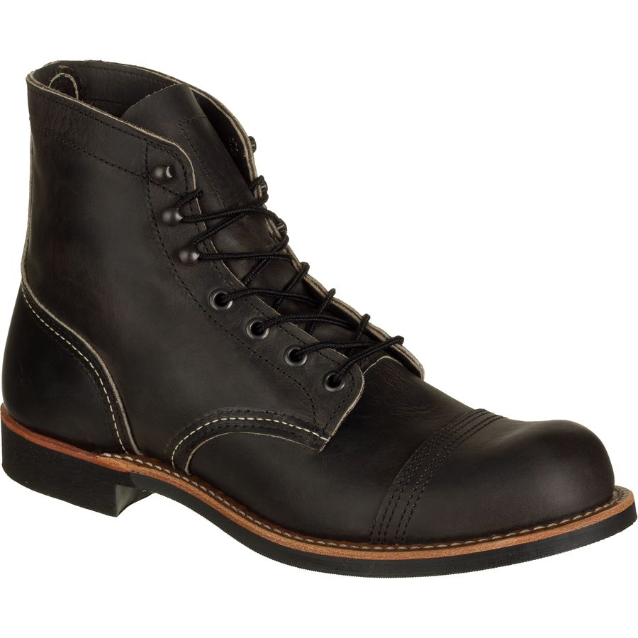 Red Wing Heritage 6-Inch Iron Ranger Boot - Men's Charcoal Rough And Tough アウトドア メンズ 男性用 靴 シューズ ブーツ Boots & Shoes
