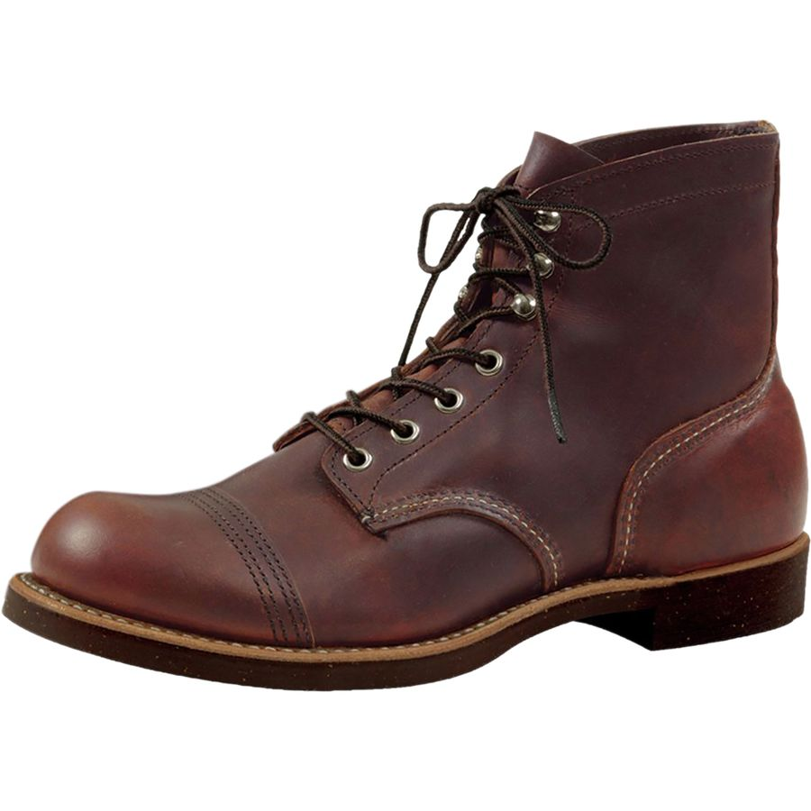 Red Wing Heritage 6-Inch Iron Ranger Boot - Men's Amber Harness アウトドア メンズ 男性用 靴 シューズ ブーツ Boots & Shoes