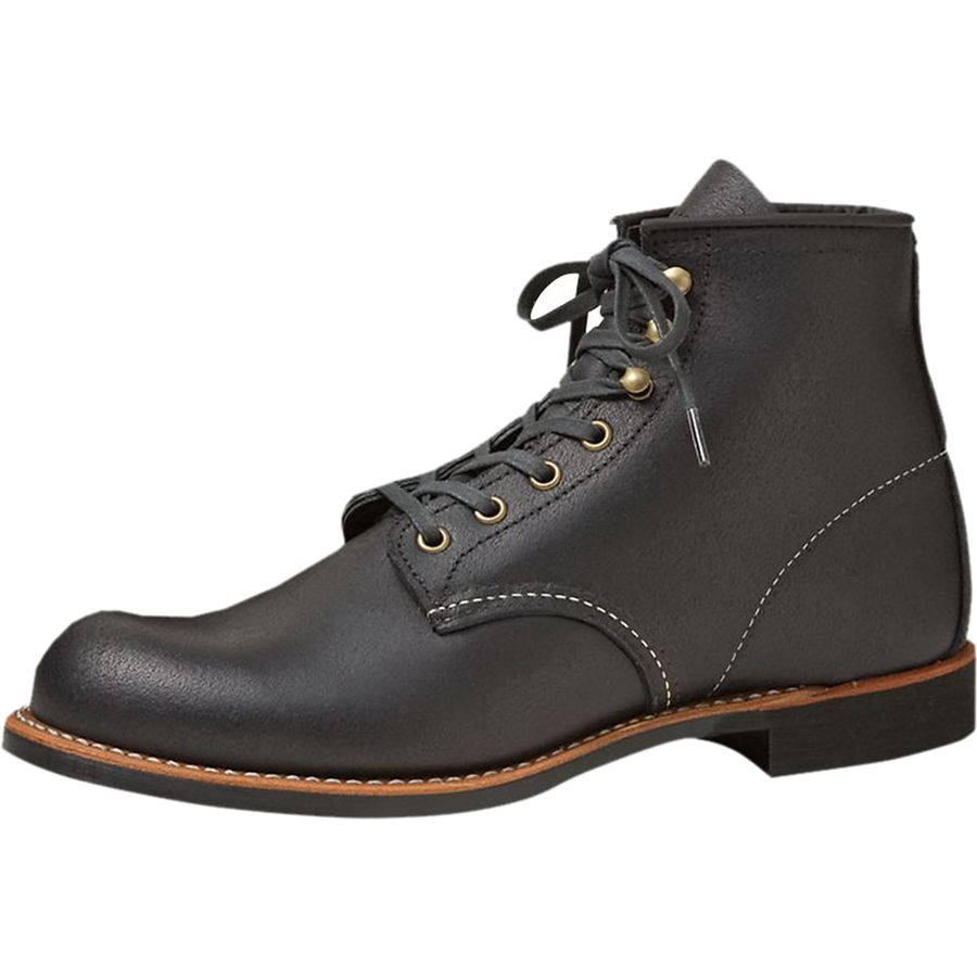 Red Wing Heritage 6in Blacksmith Boot - Men's Black Spitfire アウトドア メンズ 男性用 靴 シューズ ブーツ Boots & Shoes