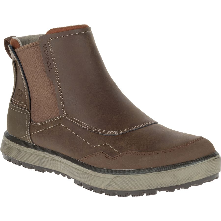 Merrell Turku Chelsea Waterproof Shoe - Men's Potting Soil アウトドア メンズ 男性用 靴 シューズ ブーツ Boots & Shoes