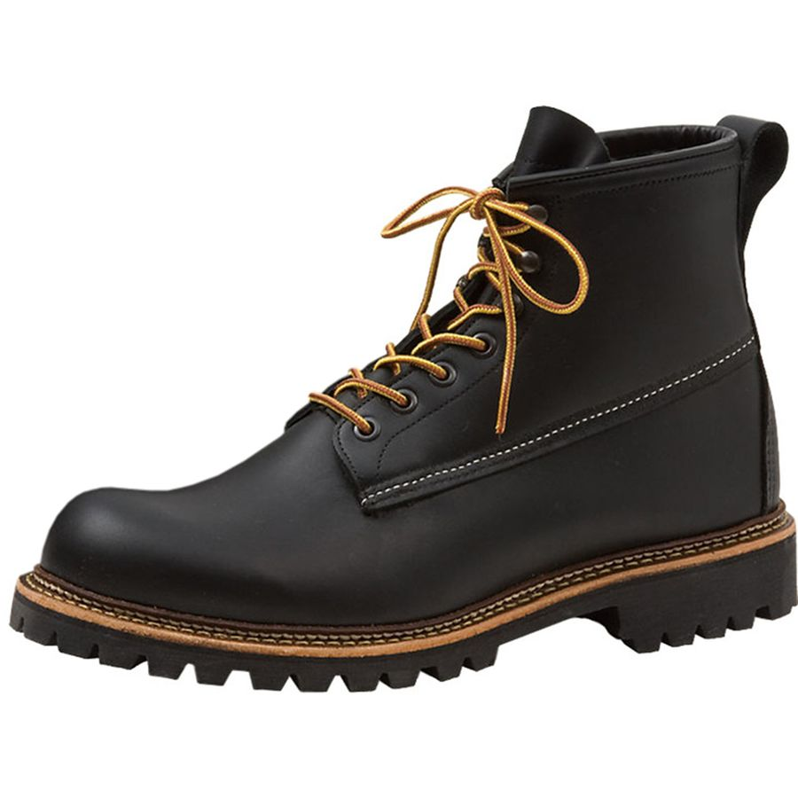 Red Wing Heritage 6-Inch Ice Cutter Boot - Men's Black Otter Tail アウトドア メンズ 男性用 靴 シューズ ブーツ Boots & Shoes