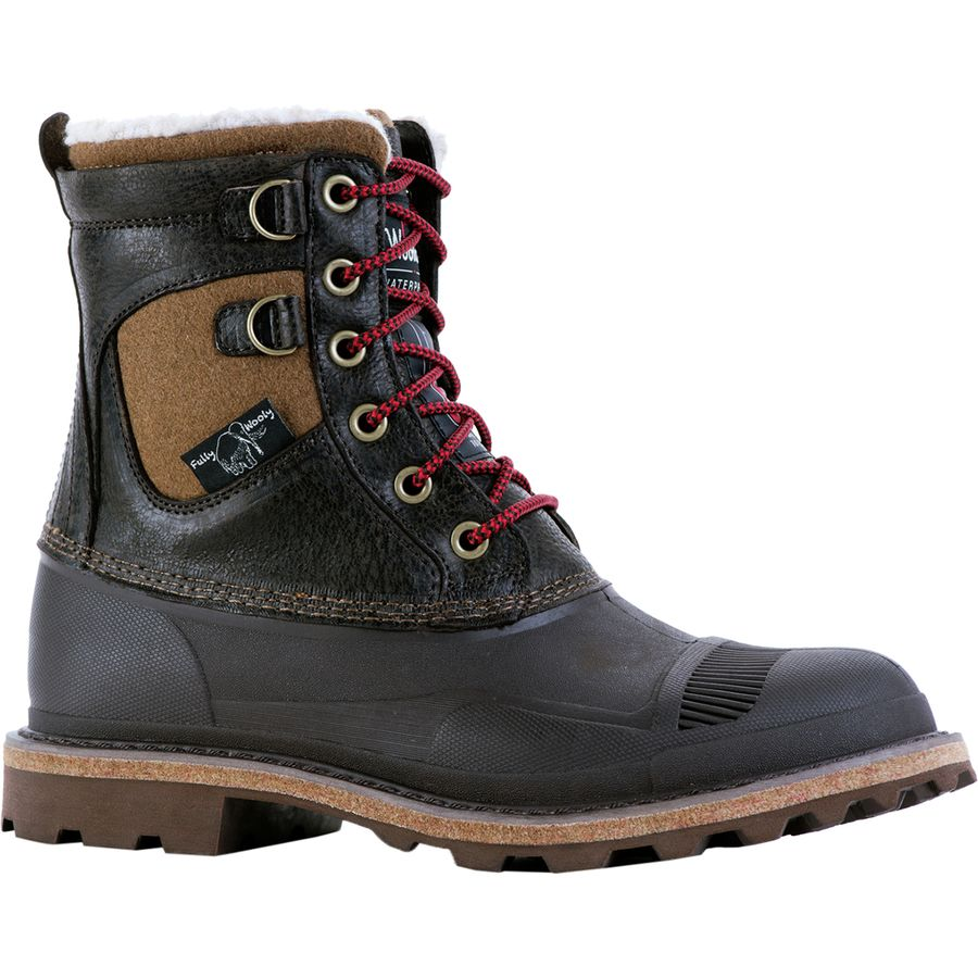 Woolrich Footwear Fully Wooly Lace Winter Boot - Men's Java アウトドア メンズ 男性用 靴 シューズ ウインターブーツ Winter Boots & Shoes