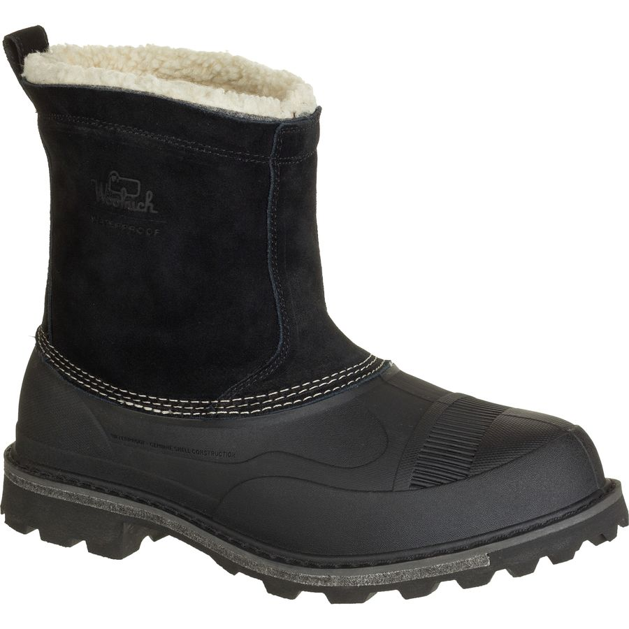 Woolrich Footwear Fully Wooly Slip Winter Boot - Men's Black アウトドア メンズ 男性用 靴 シューズ ウインターブーツ Winter Boots & Shoes
