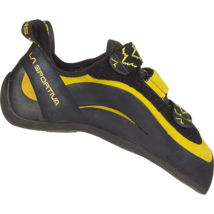La Sportiva Miura VS Vibram XS Edge Climbing Shoe Yellow Black アウトドア メンズ 男性用 靴 ロッククライミングシューズ Rock Climbing Shoes