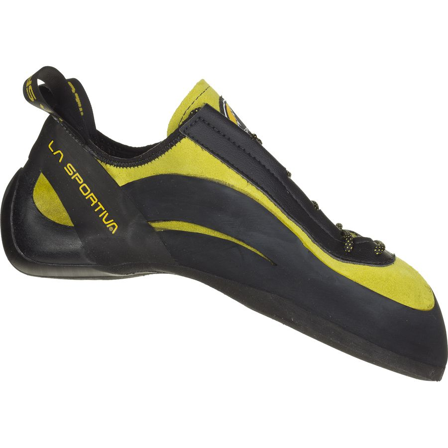 La Sportiva Miura Vibram XS Edge Climbing Shoe - Men's Yellow アウトドア メンズ 男性用 靴 ロッククライミングシューズ Rock Climbing Shoes