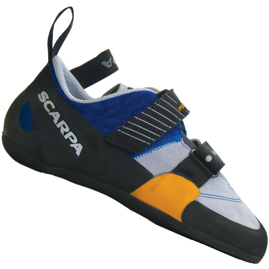 Scarpa Force X Climbing Shoe - Vibram XS Edge - Men's Ink Blue アウトドア メンズ 男性用 靴 ロッククライミングシューズ Rock Climbing Shoes
