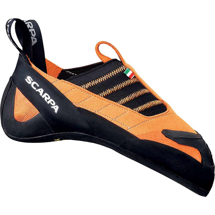Scarpa Instinct S Climbing Shoe - Vibram XS Grip2 Lite Orange アウトドア メンズ 男性用 靴 ロッククライミングシューズ Rock Climbing Shoes