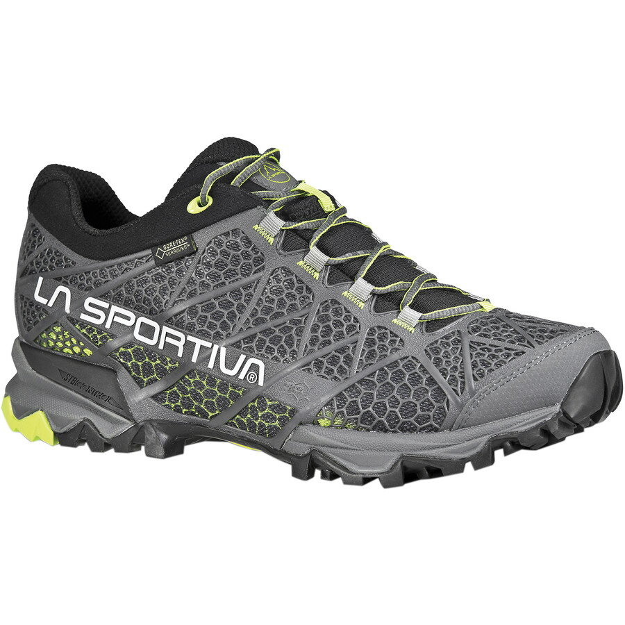 La Sportiva Primer Low GTX Shoe - Men's Grey Green アウトドア メンズ 男性用 靴 アプローチシューズ Approach Shoes