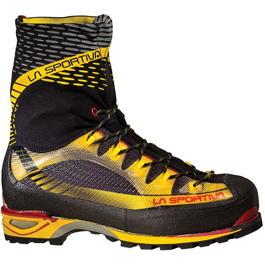 La Sportiva Trango Ice Cube GTX Mountaineering Boot - Men's Black Yellow アウトドア メンズ 男性用 登山靴 登山ブーツ シューズ