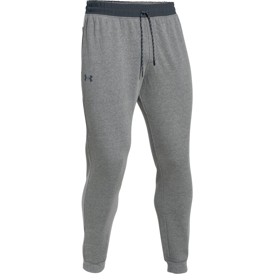 Under Armour Triblend Jogger Pant - Men's Greyhound Heather Stealth Gray Stealth Gray アウトドア メンズ 男性用 ランニング パンツ ズボン スラックス Running Pants & Tights
