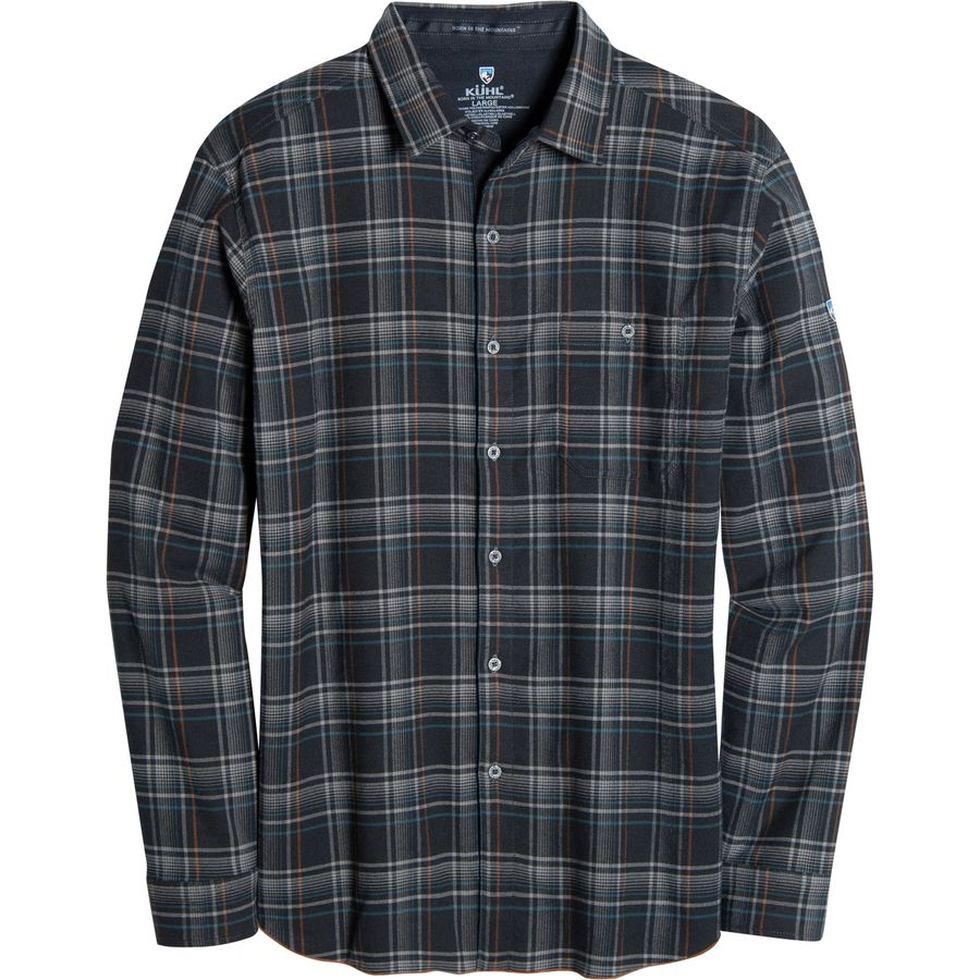 K?HL Independent Shirt - Long-Sleeve - Men's Rusted Blue アウトドア メンズ 男性用 シャツ ジャケット Flannel Shirts And Jackets