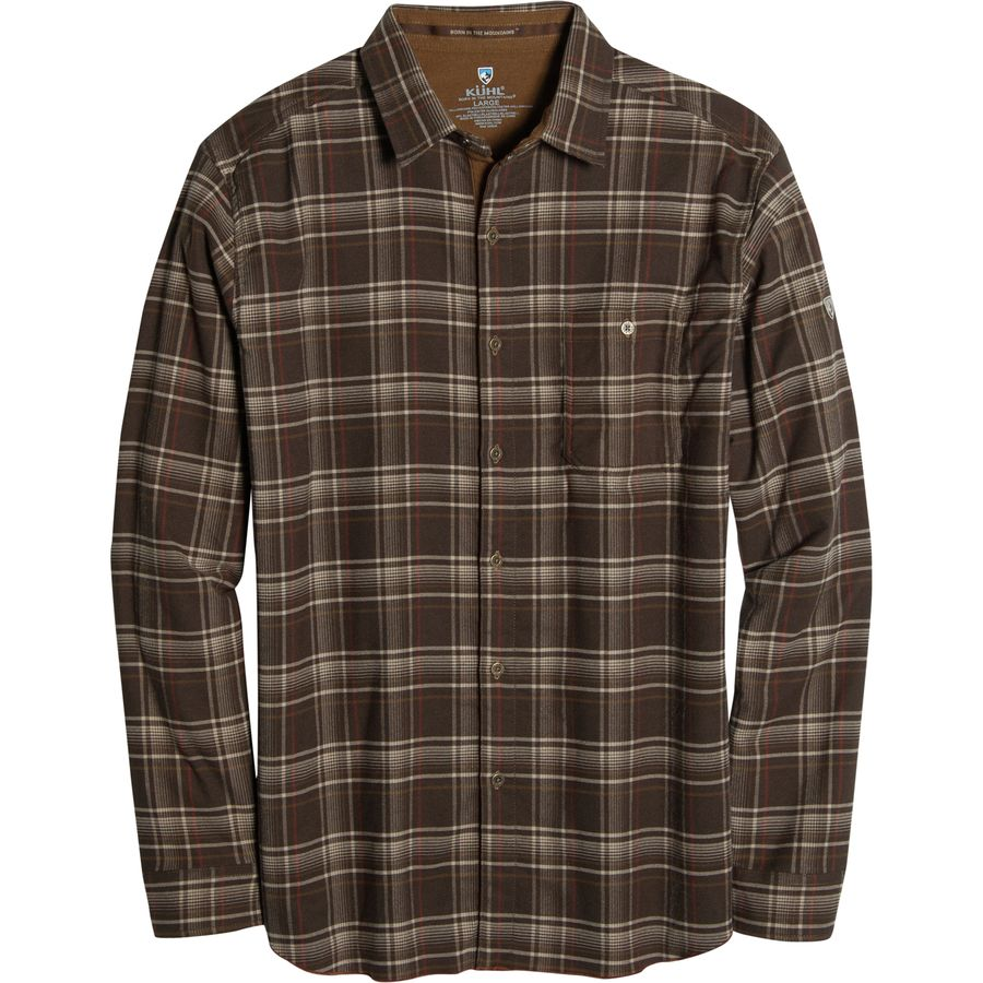 K?HL Independent Shirt - Long-Sleeve - Men's Hazelnut アウトドア メンズ 男性用 シャツ ジャケット Flannel Shirts And Jackets