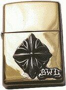 ビルウォールレザー BWL Bill Wall Leather ZL120 ブラス ニュークロス ZIPPO ライター zippo 真鍮 カスタム タバコ 煙草