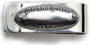 【マラソン全品P5倍】正規品 ビルウォールレザー BILL WALL LEATHER BWL XL NGAF Plaque Money Clip マネークリップ
