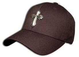 ビルウォールレザー BWL Bill Wall Leather Cap w Silver Cross BWL Apparel - Tees, Lids, Hoodies and More!
