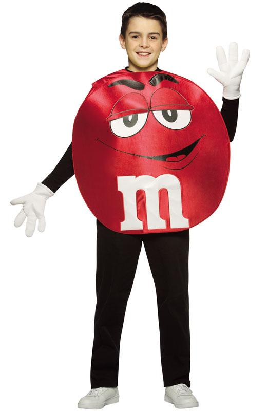 M&M'S Red Poncho ティーンサイズ コスチューム ハロウィン コスプレ 衣装 仮装 面白い 漫画 キャラクター 学園祭 文化祭 学祭 大学祭 高校 イベント