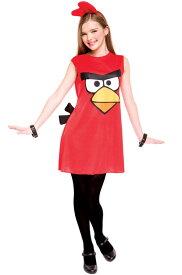 アングリーバード アングリーバード Red Bird Tween Costume (M) コスチューム クリスマス ハロウィン コスプレ 衣装 仮装 男の子 女の子 子供 小学生 かわいい 面白い 動物 アニマル 学園祭 文化祭 学祭 大学祭 高校 イベント