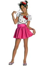 ハローキティー Hello Kitty チュチュスカート ドレス 子供用コスチューム ハロウィン コスプレ 衣装 仮装 男の子 女の子 子供 小学生 かわいい 面白い 動物 アニマル 学園祭 文化祭 学祭 大学祭 高校 イベント