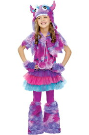 Polka Dot Monster 子供用コスチューム クリスマス ハロウィン コスプレ 衣装 仮装 男の子 女の子 子供 小学生 かわいい 面白い おとぎ話 学園祭 文化祭 学祭 大学祭 高校 イベント