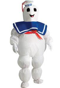 ゴーストバスターズ Ghostbusters Inflatable Stay Puft Marshmallow Man 子供用コスチューム クリスマス ハロウィン コスプレ 衣装 仮装 男の子 女の子 子供 小学生 かわいい 面白い 食べ物 かぼちゃ 飲み