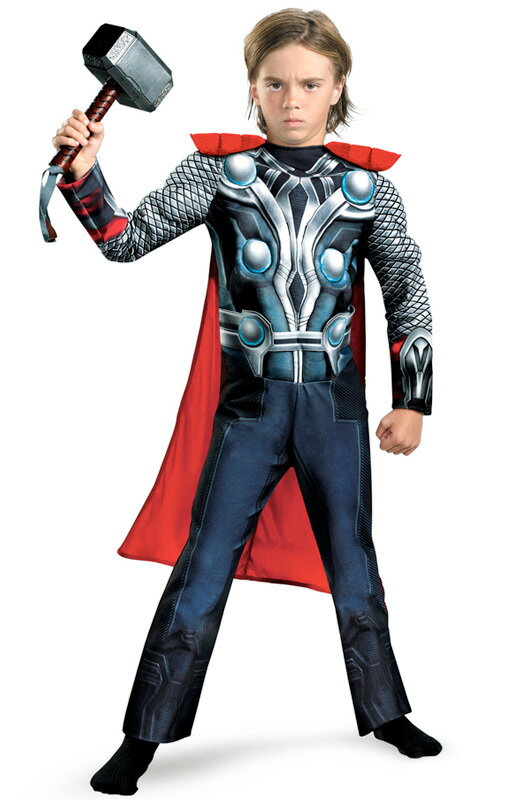 アベンジャーズ Marvel Avengers Movie Thor Muscle 子供用コスチューム ハロウィン コスプレ 衣装 仮装 男の子 女の子 子供 小学生 かわいい 面白い ヒーロー 学園祭 文化祭 学祭 大学祭 高校 イベント