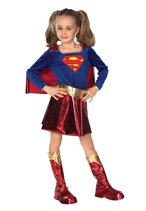 スーパーマン Superman Supergirl 子供用コスチューム ハロウィン コスプレ 衣装 仮装 男の子 女の子 子供 小学生 かわいい 面白い ヒーロー 学園祭 文化祭 学祭 大学祭 高校 イベント