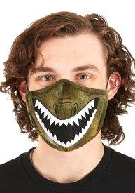 Adult's 恐竜 Sublimated Face マスク   ハロウィン コスプレ 衣装 仮装 小道具 おもしろい イベント パーティ ハロウィーン 発表会 デコレーション リボン アクセサリー メンズ レディース 子供 おしゃれ かわいい