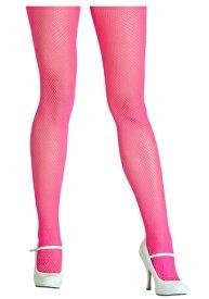 Neon Pink Fishnet Tights | ハロウィン コスプレ 衣装 仮装 小道具 おもしろい イベント パーティ ハロウィーン 発表会 デコレーション リボン アクセサリー メンズ レディース 子供 おしゃれ かわいい