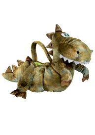 T-Rex 恐竜 Trick Or Treat バッグ バック かばん   ハロウィン コスプレ 衣装 仮装 小道具 おもしろい イベント パーティ ハロウィーン 発表会 デコレーション リボン アクセサリー メンズ レディース 子供 おしゃれ かわいい