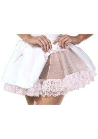 Pink Petticoat Slip - Lace Petticoat | ハロウィン コスプレ 衣装 仮装 小道具 おもしろい イベント パーティ ハロウィーン 発表会 デコレーション リボン アクセサリー メンズ レディース 子供 おしゃれ かわいい
