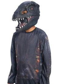 恐竜 3/4 チャイルド マスク Jurassic World 2 Villain   ハロウィン コスプレ 衣装 仮装 小道具 おもしろい イベント パーティ ハロウィーン 発表会 デコレーション リボン アクセサリー メンズ レディース 子供 おしゃれ かわいい