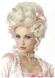 Marie Antoinette ウィッグ ハロウィン コスプレ 衣装 仮装 小道具 おもしろい イベント パーティ ハロウィーン 学芸会 学園祭 学芸会 ショー お遊戯会 二次会 忘年会 新年会 歓迎会 送迎会 出し物 余興 誕生日 発表会 バレンタイン ホワイトデー