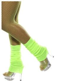 Neon Green Leg Warmers ハロウィン コスプレ 衣装 仮装 小道具 おもしろい イベント パーティ ハロウィーン 学芸会 学園祭 学芸会 ショー お遊戯会 二次会 忘年会 新年会 歓迎会 送迎会 出し物 余興 誕生日 発表会 バレンタイン ホワイトデー