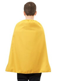 Child's Yellow Superhero マント ケープ ハロウィン コスプレ 衣装 仮装 小道具 おもしろい イベント パーティ ハロウィーン 学芸会 学園祭 学芸会 ショー お遊戯会 二次会 忘年会 新年会 歓迎会 送迎会 出し物 余興 誕生日 発表会 バレンタイン ホワイトデー