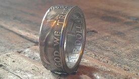 フランクリンハーフ50セント銀貨 コインリング シップス ビームス ユナイテッドアローズ