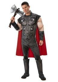 デラックス マーベル アベンジャーズ Endgame Men's Thor コスチューム ハロウィン メンズ コスプレ 衣装 男性 仮装 男性用 イベント パーティ ハロウィーン 学芸会