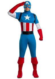 【ポイント5倍】マーベル 大人用 Captain America Premium コスチューム ハロウィン メンズ コスプレ 衣装 男性 仮装 男性用 イベント パーティ ハロウィーン 学芸会