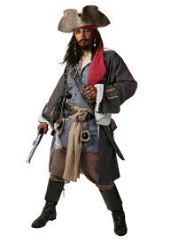 【ポイント5倍】大きいサイズ Realistic Caribbean 海賊 パイレーツ コスチューム ハロウィン メンズ コスプレ 衣装 男性 仮装 男性用 イベント パーティ ハロウィーン 学芸会